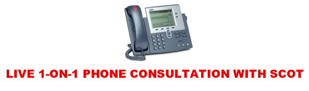 LIVE 1-on-1 Phone Consultation