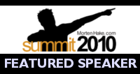 Scot McKay Was A Featured Speaker At Morten Hake's Summit 2010 In Oslo, Norway