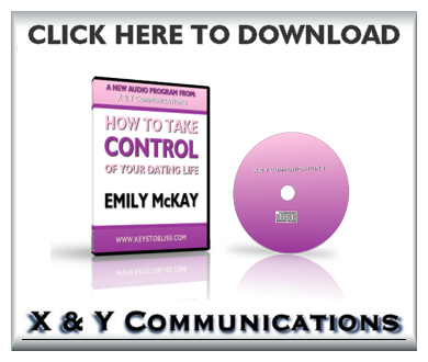 FREE INSTANT DOWNLOAD Of Emily's Free Audio Program 'Take Back Control Of Your Dating Life'